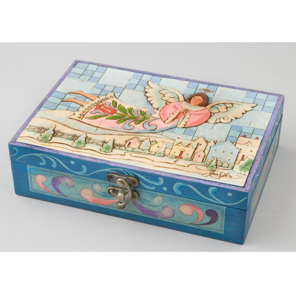 Jim Shore Angel Ornaments with Hinged Box