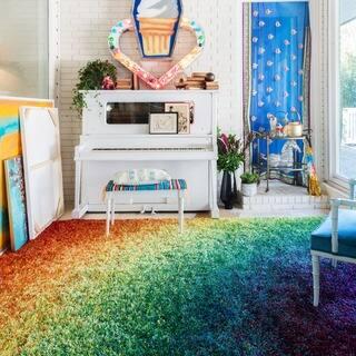Stella Rainbow Shag Rug (7'7 x 10'5)|https://ak1.ostkcdn.com/images/products/6275655/P13910654.jpg?impolicy=medium