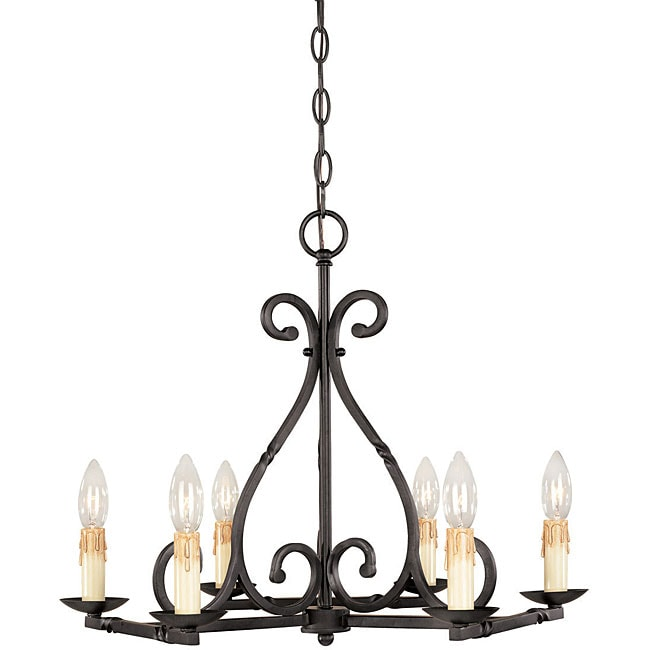 World Imports Rennes Collection 6-light Chandelier