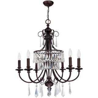 World Imports Lille Collection 6-light Hanging Chandelier