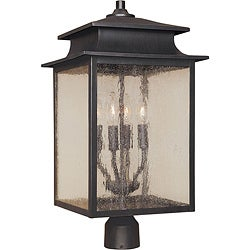 World Imports Sutton Collection 4-light Post Lantern