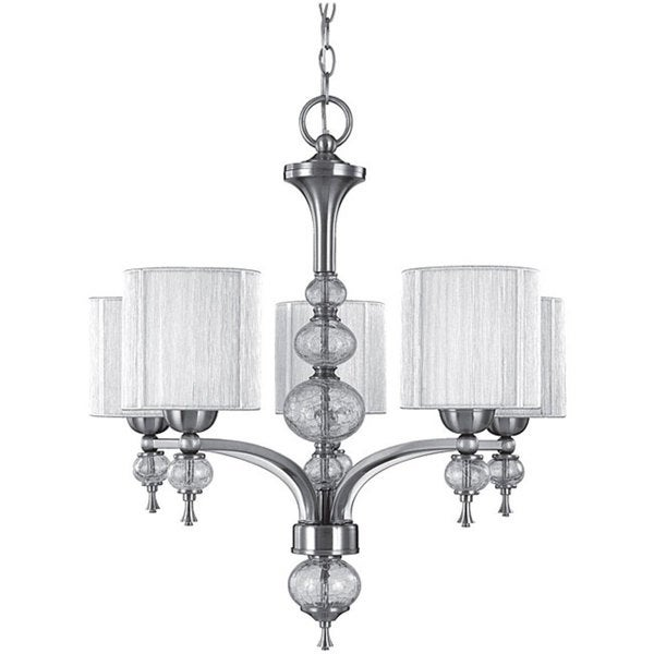 World Imports Bayonne Collection 5-light Chandelier