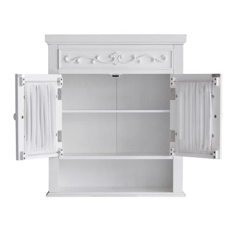 Fair Lady Wall Cabinet by Elegant Home Fashions