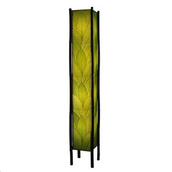Handmade Green Fortune Giant Floor Lamp (Phillipines)
