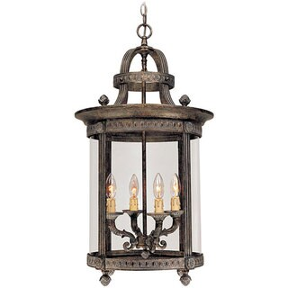 World Imports Chatham Collection 4-light Hanging Interior Lantern