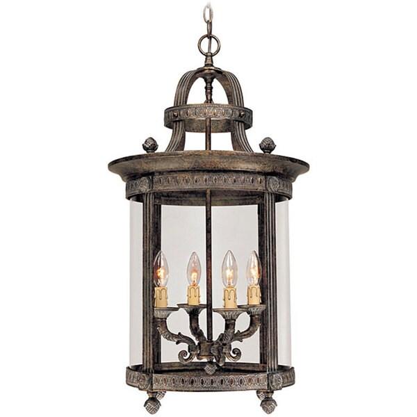 World Imports Chatham Collection 4-light Hanging Interior Lantern