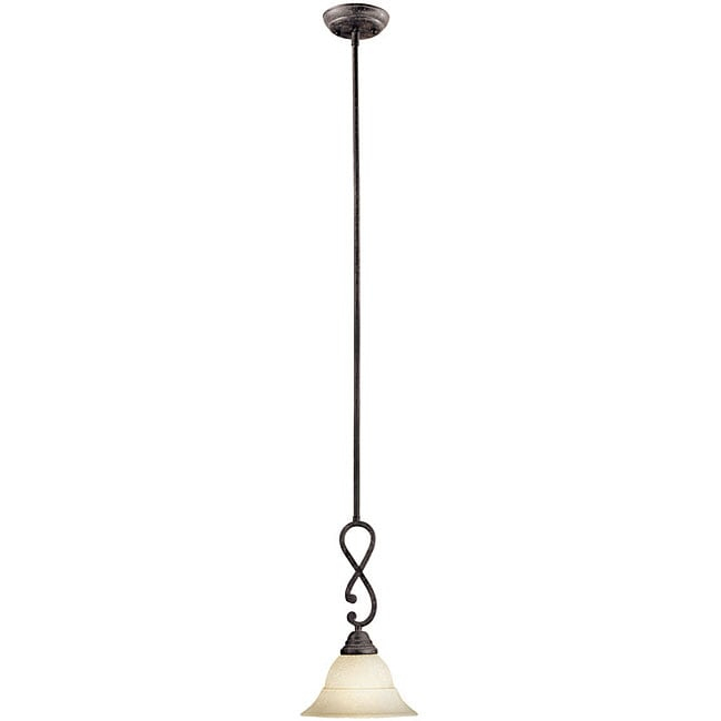 World Imports Chaumont Collection Single Light Pendant