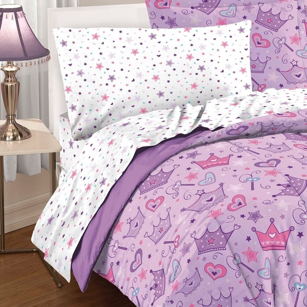dream factory stars and crowns fullsize 7piece bed in a bag with sheet set free shipping today
