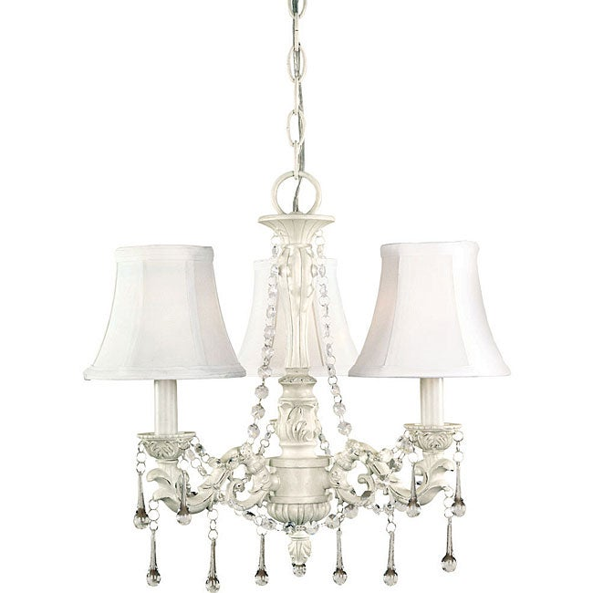 World Imports Alyssa Collection 3-Light Chandelier - Thumbnail 0