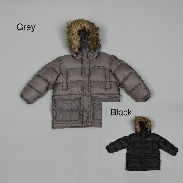 Sean John Boy's Faux-fur Hood Coat