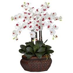 Large Phalaenopsis Silk Flower Arrangement