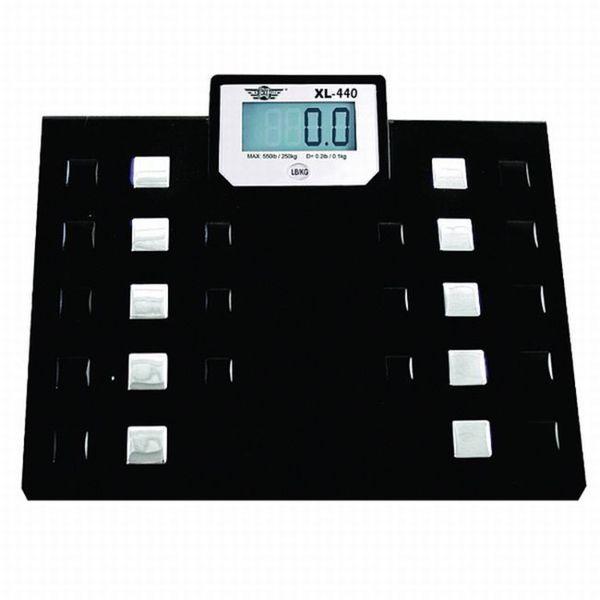 My Weigh SCMXL440 XL-440 Talking 440-lb Bathroom Scale. Opens flyout.