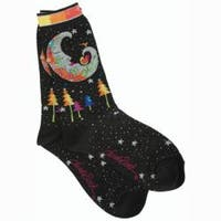 Laurel Burch Socks 'Mystic Moon'