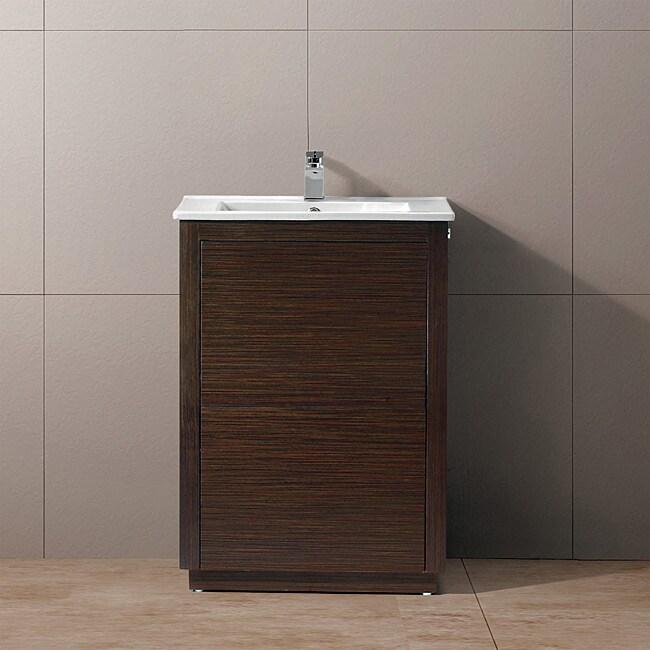 Vigo 24-inch Saba Freestanding Single Bathroom Vanity