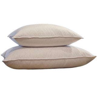 Jacquard 500 Thread Count Natural Down and Feather Pillow