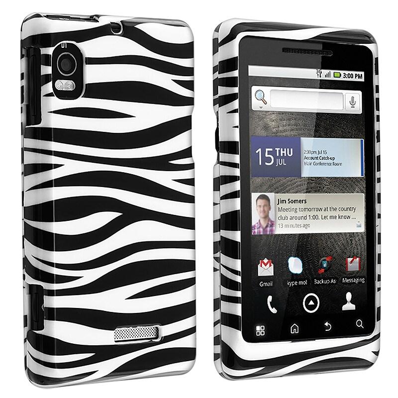 Zebra Protective Case for Motorola Droid 2 A955
