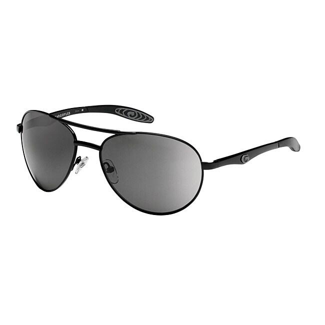 Gargoyles Men's 'Alfa' Aviator Sunglasses