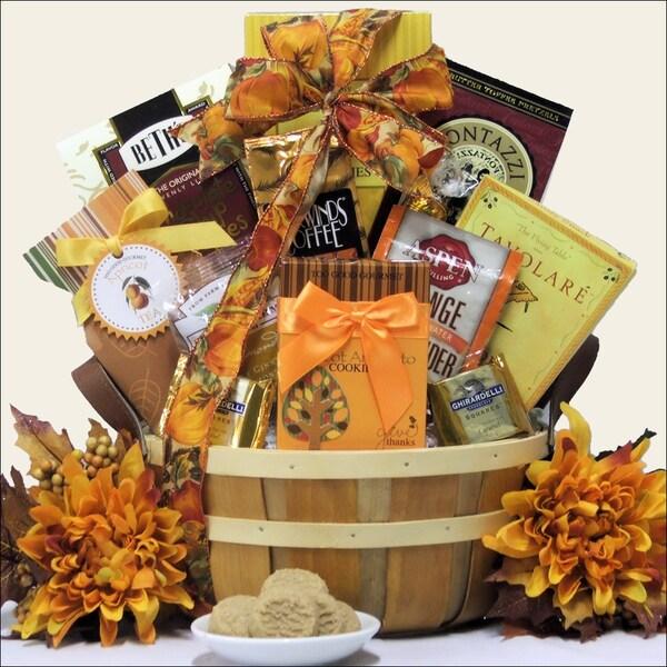 Thanksgiving Wishes Gourmet Thanksgiving Gift Basket