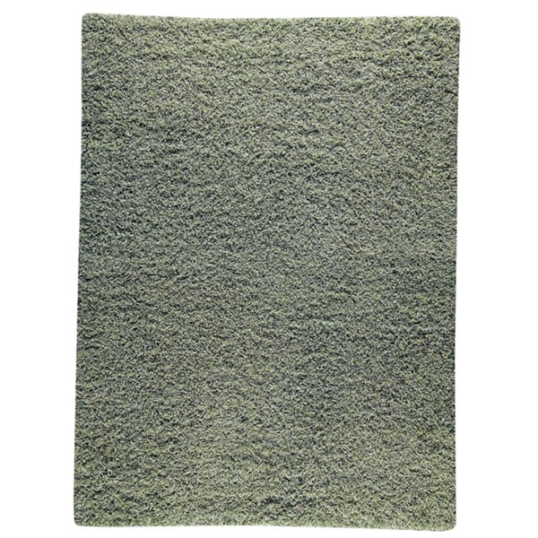 M.A.Trading Hand-woven Shanghai Mix Green Wool Rug (4'6 x 6'6)