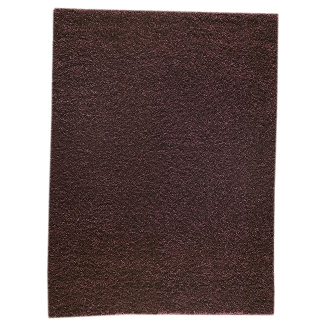 M.A.Trading Hand-woven Shanghai Mix Brown Wool Rug (5'6 x 7'10)
