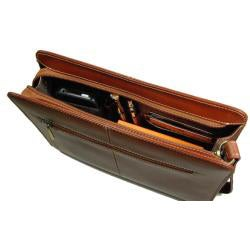 Castello Colombo Men's Leather Bag - Thumbnail 1