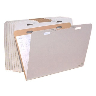 VFolder37 24 x 36-inchFlat Items Storage VFolders (Pack of 8)