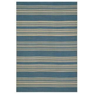 Laenas Flat Weave Wool (5' X 8')
