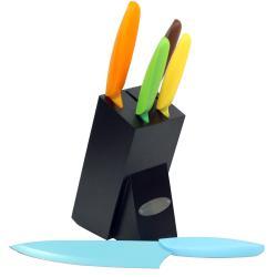 Oceanstar 6-Piece Non-Stick Coating Knife Set - Thumbnail 1