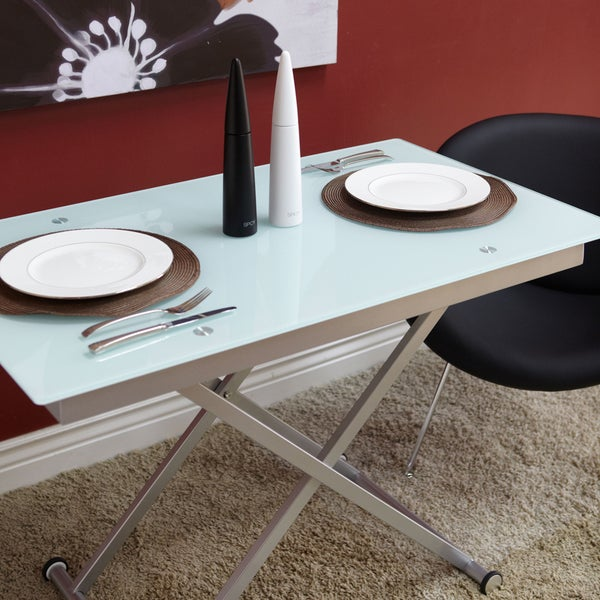 manhattan rectangle adjustable height dining and coffee table free shipping today