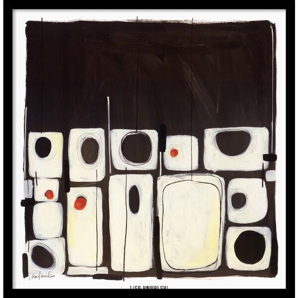 Lisa Kowalski 'Red Eye I' Framed Art Print