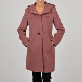 Hilary Radley Collection Women's Brick Toggle Coat