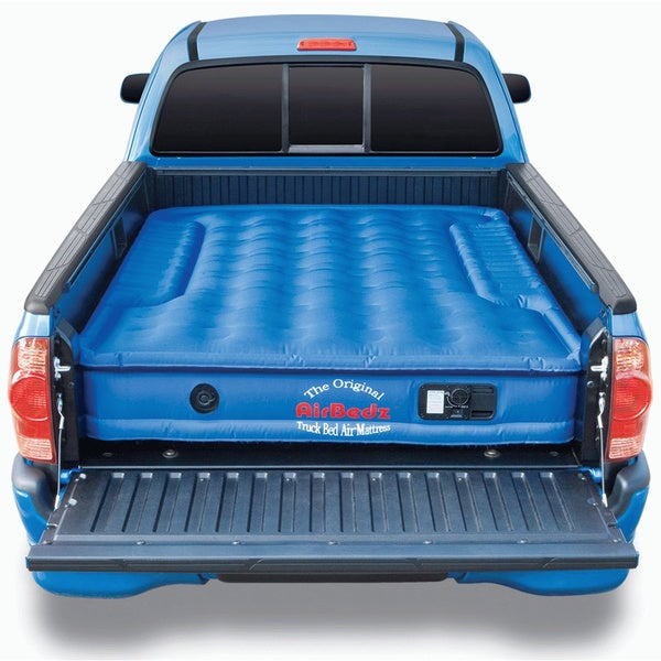 AirBedz PPI-102 Full-size Short Bed 6' - 6'6 Truck Bed Air Mattress with Build-in Rechargeable Battery Air Pump