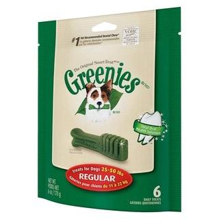 Greenies Mini Treat-Pak Regular Bones (Pack of 6)