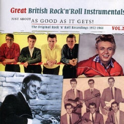 GREAT BRITISH INSTRUMENTALS-AS GOOD AS IT GETS - VOL. 2-GREAT BRITISH INSTRUMENTALS-AS GOOD AS IT G