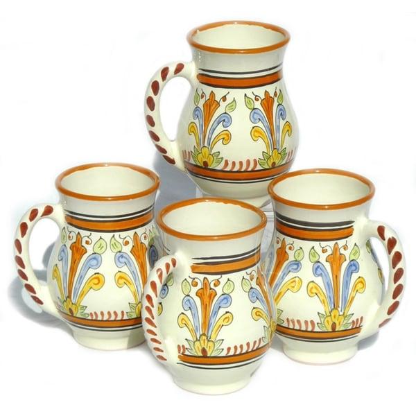 Set of 4 Sauvage Design Large 16-oz Mugs (Tunisia)