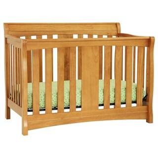 DaVinci Rowan 4-in-1 Convertible Crib in Oak