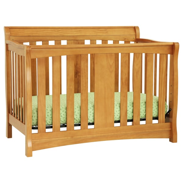 DaVinci Rowan 4-in-1 Convertible Crib in Oak