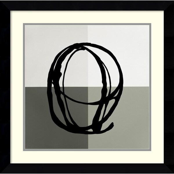 Gregory Garrett 'Swirl Pattern V' Framed Art Print