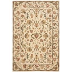 Safavieh Handmade Eden Ivory Hand-spun Wool Rug (6' x 9')