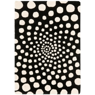 Safavieh Handmade Soho Knarik Abstract Dots N.Z. Wool Rug