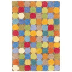Safavieh Handmade Soho Modern Abstract Brown/ Multi Wool Rug - 2' x 3'