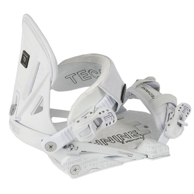 Technine Elements Pro Women's White Snowboard Bindings - Thumbnail 0