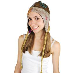 Women's Peace and Love Hat (Nepal)