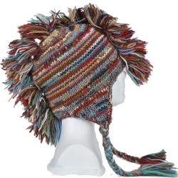Handmade Unisex Mohawk Hat (Nepal)