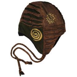 Handmade Women's Razor Cut Cotton Hat (Nepal)