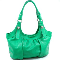 Dasein Faux Leather Hobo Bag