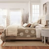 Sophie Tufted Upholstered Platform Bed by iNSPIRE Q Classic
