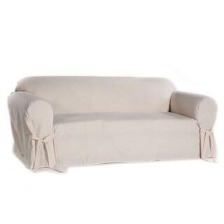 Classic Slipcovers Machine-Washable Cotton Duck Sofa Slipcover