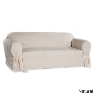 Link to Classic Slipcovers Machine-Washable Cotton Duck Sofa Slipcover Similar Items in Slipcovers & Furniture Covers