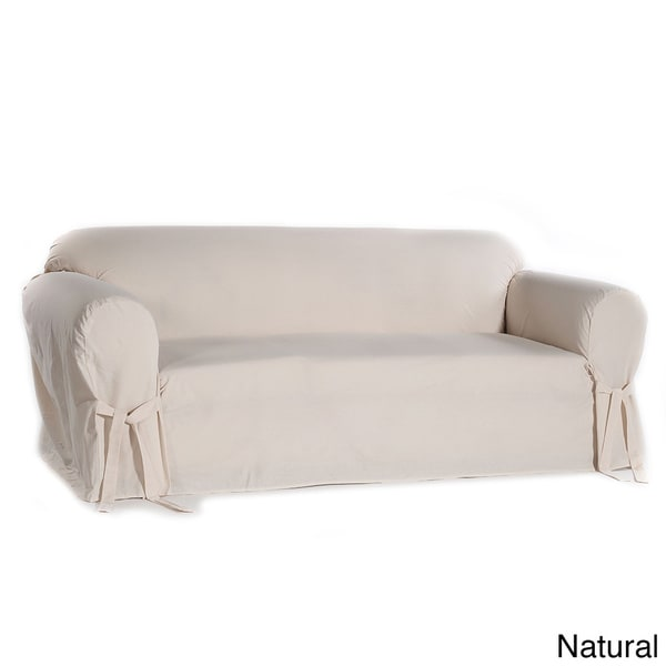Classic Slipcovers Machine-Washable Cotton Duck Sofa Slipcover. Opens flyout.